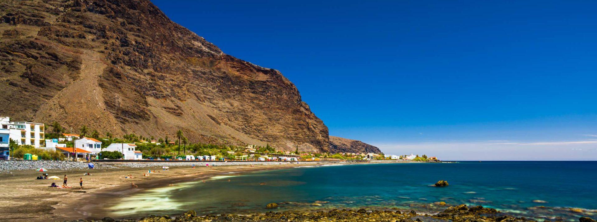 Playa de La Calera, Valle Gran Rey, © Luis M. Anibarro