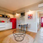 Wohnzimmer und Küche. Guará. Hoya del Cura